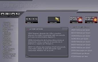Web IRCOrioN 2003