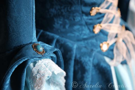 Larp Gewandung Arianna barockes Kleid