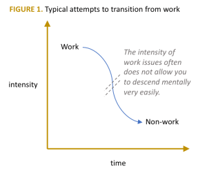 typical work home transition model
