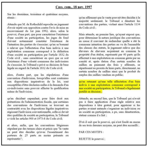 L Affectio Societatis A Bamde J Bourdoiseau