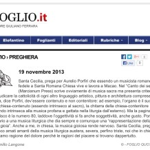 "A new post on ""Il Foglio"""
