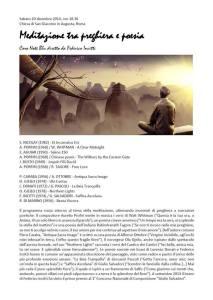 Concerto 21 dicembre roma - note blu