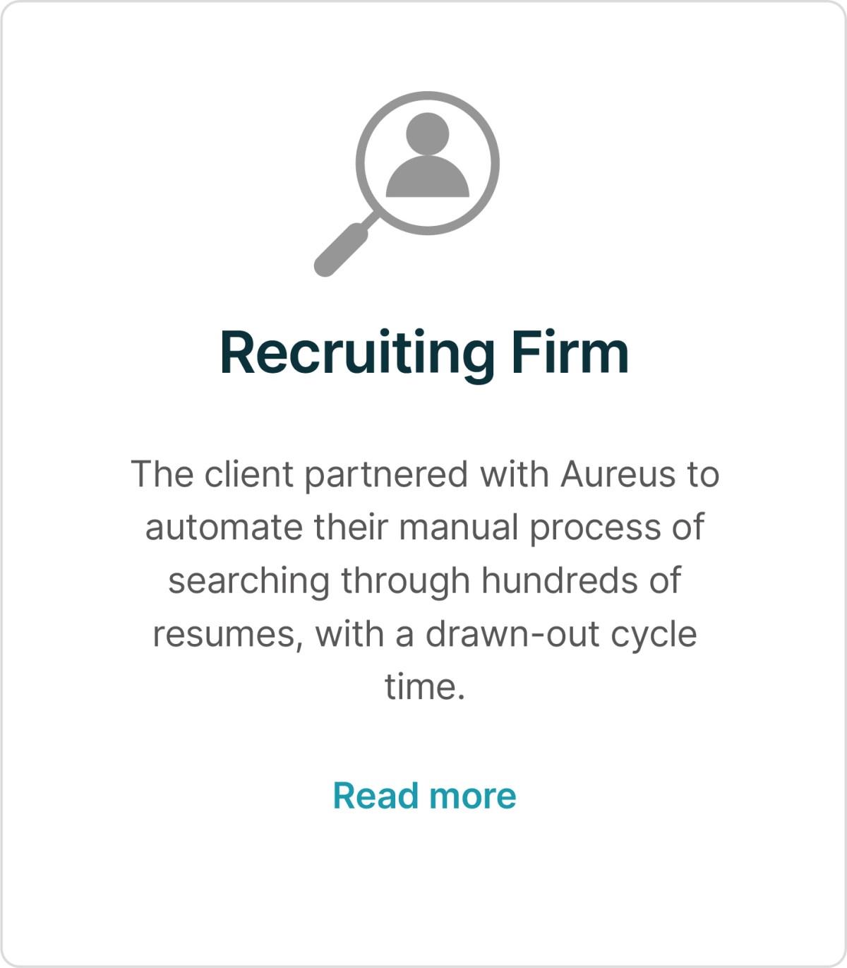 Recruiting Firm