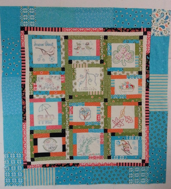 Aurifil 2012 Designer of the Month top