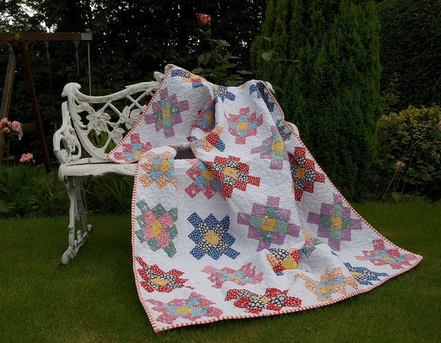 katy jones granny quilt