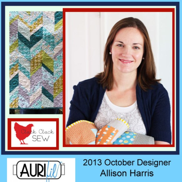 2013 Allison Harris October Aurifil designer button