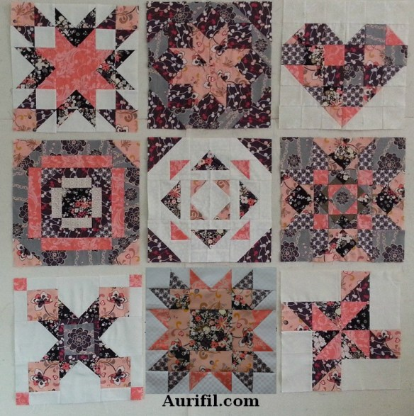 2013 aurifil jan to sept blocks