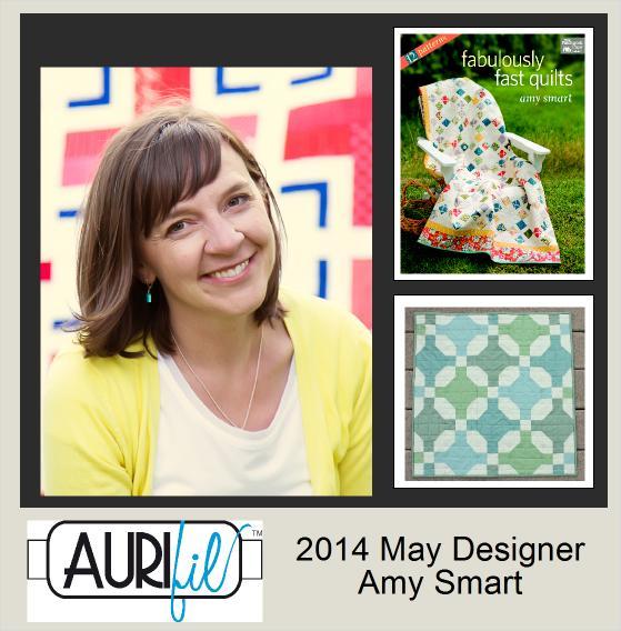 2014 Amy Smart May Aurifil designer button