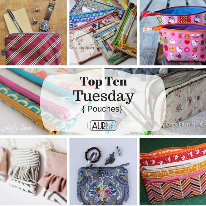 Top Ten Tuesday Pouches