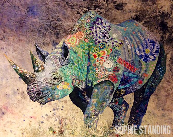 Sophie Standing, Black Rhino