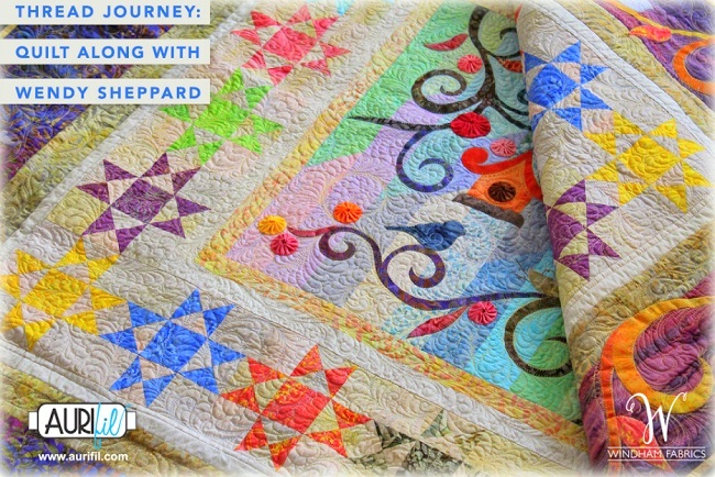 Thread Journey Quilt Along with Wendy Sheppard - 1