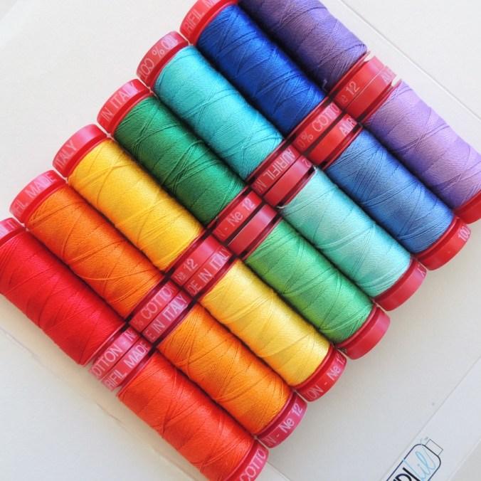 12wt Thread Rainbow