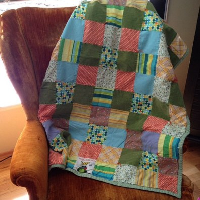 Kristi's first quilt