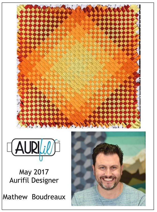2017 Aurifil DOM May Mathew Boudreaux collage