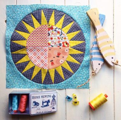 Mystery Quilt Block by Jo Avery - @mybearpaw