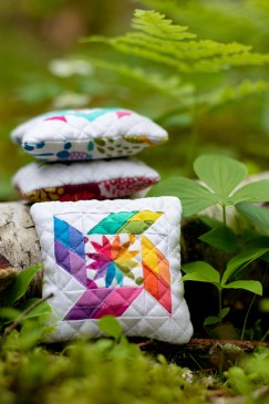Karie Jewell's Precious Kwik Pincushions for the Quilter's Planner 2019 in Barred Island Preserve, Stonington, ME