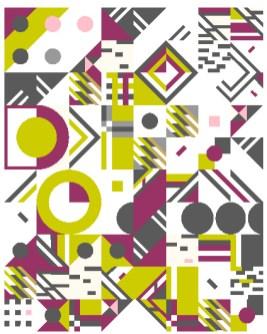 Geometric Fun Quilt
