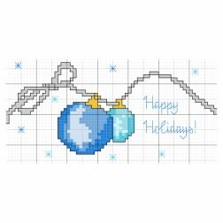 July 17 - Happy Holiday Christmas Ornaments