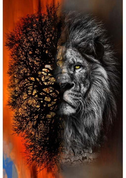 New Digital Print from Call of the Wild - via Hoffman Fabrics