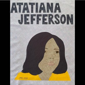 Atatiana Jefferson by Sarah Harris || @acorncornerquilts -- Learn More