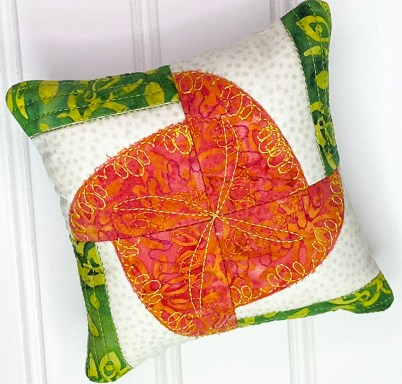 Kismet Pincushion Echo Quilting