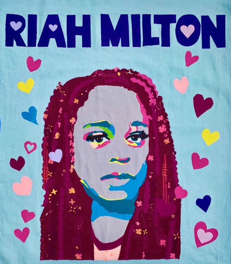 Riah Milton by Sarah Fader & Maxie Anthon || @yorebelwoman & @bluemaxie -- Learn More