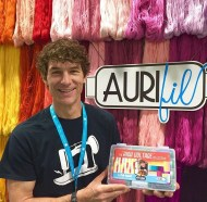 Rob Appell with his High Voltage Collection (photo by Man Sewing)