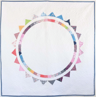 Sun Halo Quilt by Sandra Clemons