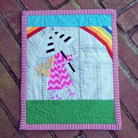 Paper-Pieced Mini Quilt