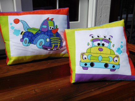 MonsterTruckPillows