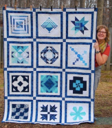 2016 Aurifil Designer of the Month Quilt with Host Pat Sloan