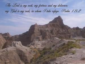 God is a rock