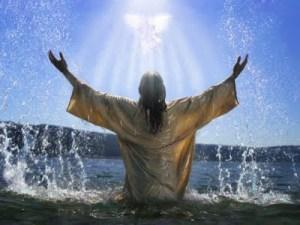 Jesus baptism Holy Spirit