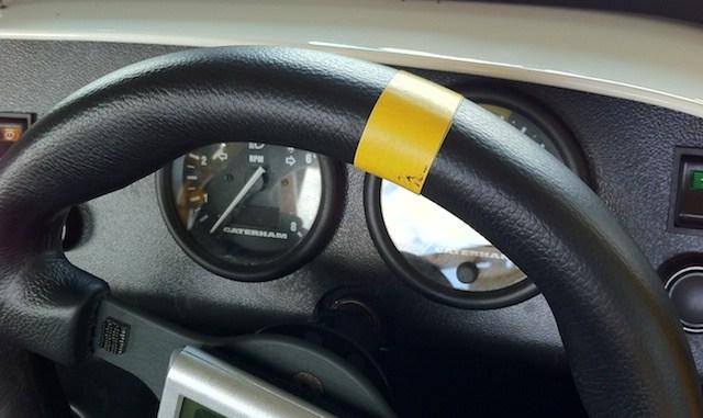 Steering Wheel Marker