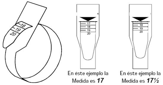 Guía para obtener la talla de anillo