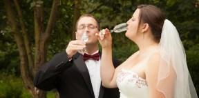 Lorna Niall Drinking Champagne2