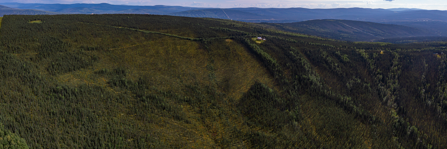 off grid aerial drone Fairbanks middle of nowhere