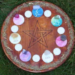 Mandala Mágica dos Anjos e dos Seres da Natureza