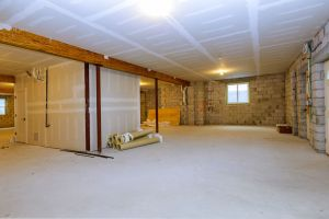 unfinished basement remodel project needed