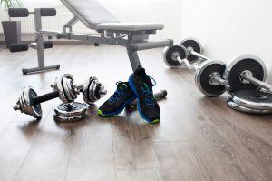 basement finish workout room equipment