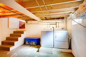 basement finishing laundry room upgrade needed