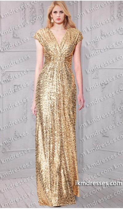 sparkling-dolman-sleeves-floor-length-sequin-gown-59619-290111