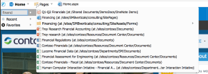 FlyView SharePoint Search Integration