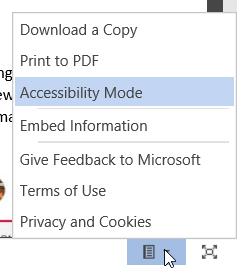 Document user options