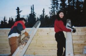 Peeling Logs - 1999