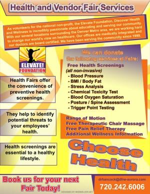 aurora-colorado-elevate-foundation-health-fair-handout-graphic