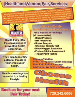 aurora-colorado-elevate-foundation-health-fair-handout-graphic