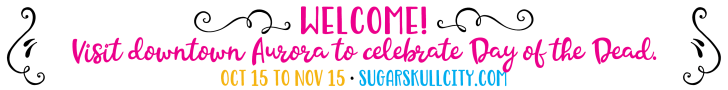 Web banner Sugar Skull City
