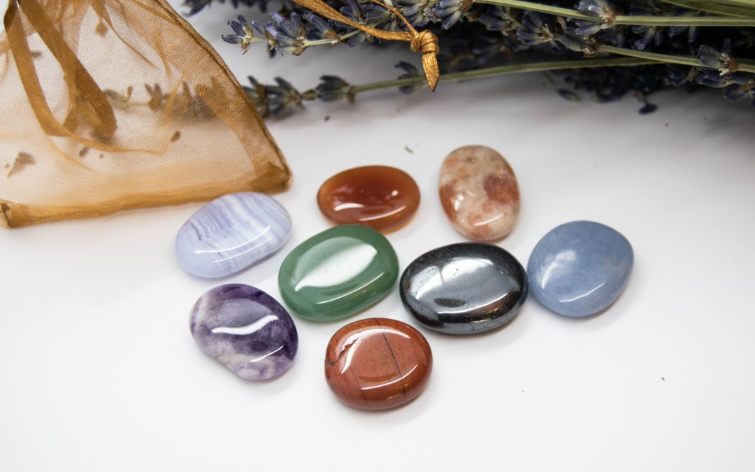 Full Chakra Set of Crystals + One Extra - Align Your Chakras