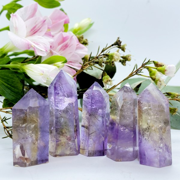 Divine Ametrine Points, Spiritual Growth and Awareness